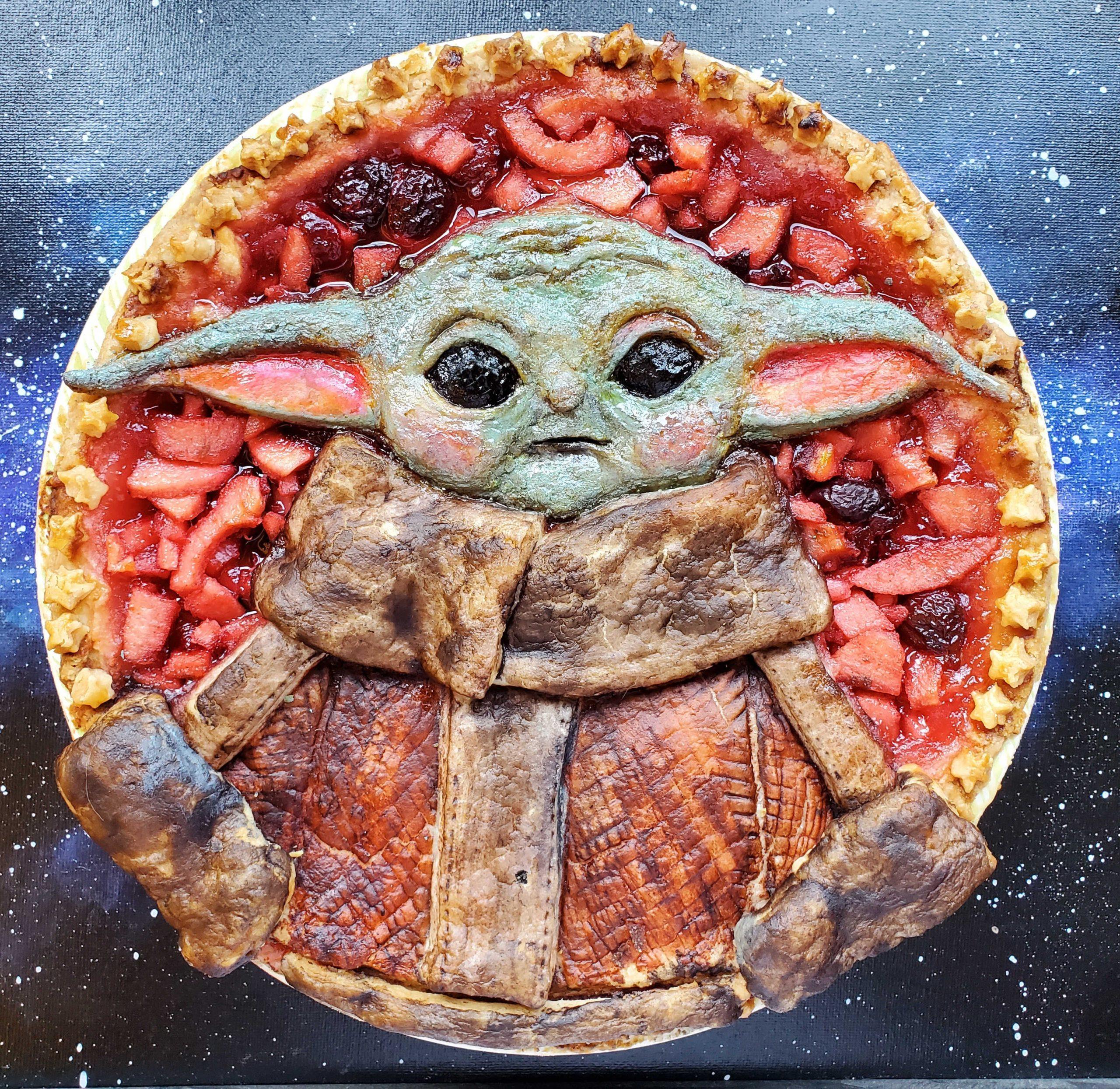 May The 4th Baby Yoda Portlandia Pie Lady